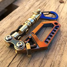 Titanium Key chain Swivel Carabiner N19 / by EdcApparatus on Etsy