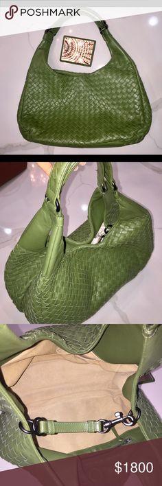 Bottega Veneta Med Hobo Green Medium Hobo green Bottega Veneta Bags Shoulder Bags