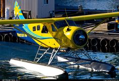 De Havilland Canada DHC-2 Beaver C-FSKZ 1594 Vancouver Harbour - CYHC