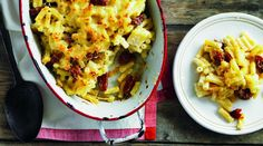 Spicy chorizo, heaps of pasta and melting cheese? This delicious bake ticks all of our boxes!,