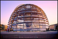 Reichstag Glass Dome, Berlin | architecture by Norman Foster | photo by Yen Best