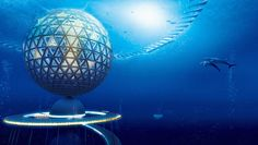 A Japanese company thinks we should all go sleep with the fishes in its sustainable Ocean Spiral city.