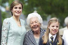 La Familia Real en la comunión de Su Alteza Real la infanta Sofía 17-05-2017