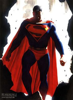 Alex Ross Recreates The ACTION COMICS #1 Cover For An Awesome New SUPERMAN Lithograph