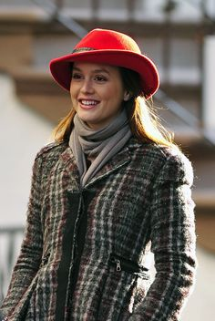 Blair waldorf blair waldorf blair waldorf- this hat and coat is PERF