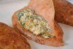 Stuffed Tuscan Chicken - Coop Can Cook Diet Recipes, Chicken Recipes, Cooking Recipes, Pasta Recipes, Recipies, Healthy Recipes, Cream Cheese Chicken, Asiago Chicken, Chicken Potpie