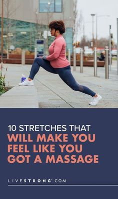 stretches You Can Do, Make You Feel, Like You, How Are You Feeling, Good Stretches, Stretching, Getting A Massage, Muscle Tissue, Keep Fit