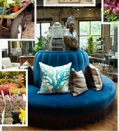 Marcus Design: {falling in love with the round settee}