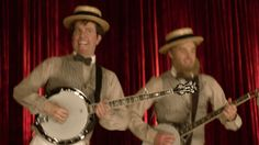 And then they were a matching quartet! | The New Mumford And Sons Music Video Parodies Itself And It's Amazing