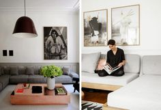 Inspiration for the Living Room | Low and Grey