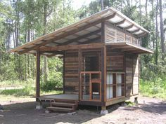More cabins in the woods.