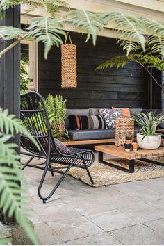 Outdoor Rooms, Outdoor Living, Outdoor Furniture Sets, Outdoor Decor, Outdoor Patios, Modern Patio Design, Contemporary Patio, Design Jardin, Patio Interior