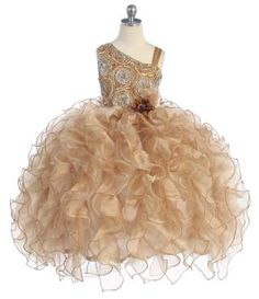 love the gold ruffles... change the top..