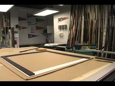 Jersey Framing Part II: See a jersey framing project that took 7 hours in 15 minutes!