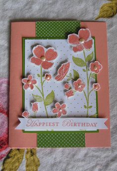 Birthday Card with Wildflower Meadow