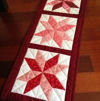 Quilting: Star Table runner