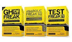 (1)PharmaFreak Test Freak Testosterone Booster (1) PharmaFreak Anabolic Freak Testosterone Booster and (1) GH Freak - Sleep Supplement | BODYBUILDING SUPPLEMENT STACK | D-Aspartic Acid, Fenugreek,Tribulus, 5-HTP, Stinging Nettle *** Read more reviews of the product by visiting the link on the image.