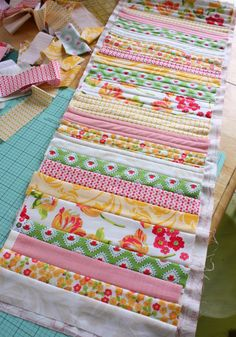 Floribella fabric + Pattern Jam - Diary of a Quilter - a quilt blog
