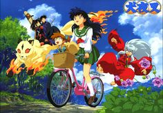 Inuyasha--childhood memories
