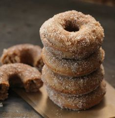 baked chai donuts : out of this world good!