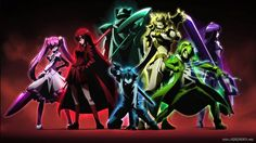 Night Raid Anime Akame Ga Kill Group High Resolution