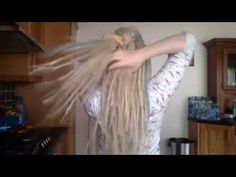 Fishtail braid tutorial for dreads! - YouTube