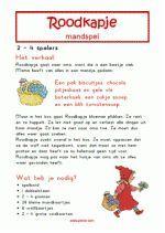 Mandspel Roodkapje - Verhaal + spelregels Wolf, Too Cool For School, Fairy Tales, Theater, Design, School Ideas, Drama, Disney, Projects