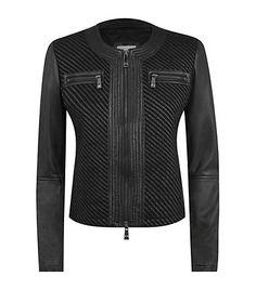 Pinko - Flamini Leather Box Jacket