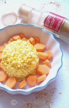 Risotto alle carote e curry