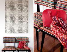 Casa de Valentina - Décor cheio de personalidade e cor.