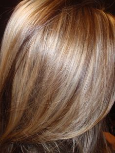 lowlights and highlights! Might try this for the winter...
