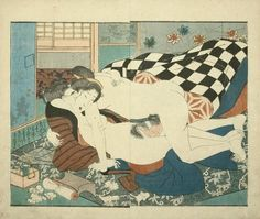 Original antique Japanese color woodblock attributed to Utagawa Kuniyoshi (1797–1861). Date: c.1840s.