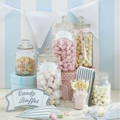 Candybar Set Vintage Candybüffet