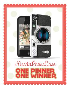 Isn't that iPhone case cute? Makes your phone look like a Leica camera. Want to win your own? Click through to the original blog post!