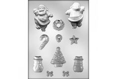 CHRISTMAS CHOC MOULDS AVAILABLE AT WWW.MYDREAMCAKE.COM.AU