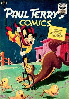 Paul Terry's Comics (St. John)...Mighty Mouse on the cover