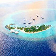 Sun is setting to Safari Island Resort #Maldives  See more - http://maldivesholidayoffers.com/resorts/85/safari-island-resort
