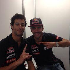 Daniel Ricciardo and Jean-Éric Vergne - 2013 Canadian GP