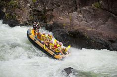 One Top Most Attractions in Cairns White Water Rafting
