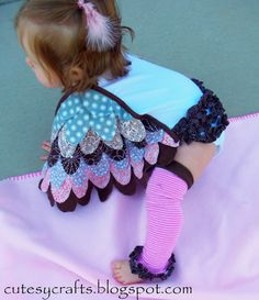 DIY Baby Owl Costume Tutorial - Comfortable and adorable!