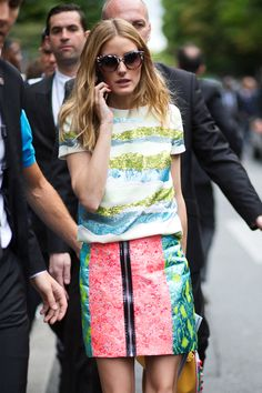Olivia Palermo - Paris Fall 2015 Haute Couture Week - July 2015