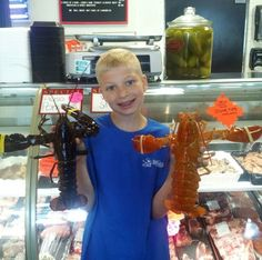 The vast majority of wild lobsters are a mottled brown, although very rare specimens scramble across the sea floor sporting more peculiar colors, and about one in 10 million are bright orange. So imagine the odds of discovering six orange lobsters in a single shipment.
