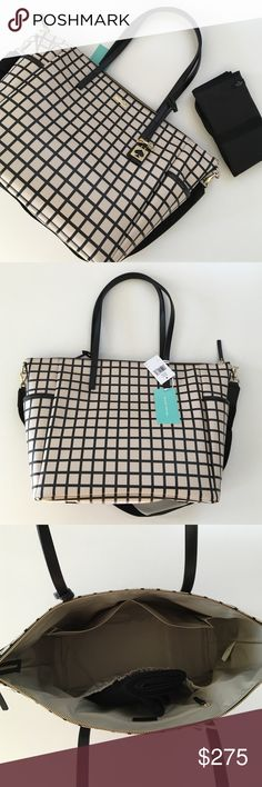 Spotted while shopping on Poshmark: SALE PRICE FIRMHP Kate Spade Diaper/Travel Bag! #poshmark #fashion #shopping #style #kate spade #Handbags