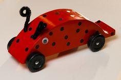ladybug derby car