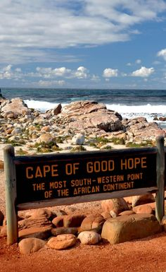 The Cape of Good Hope, Rocky Headland on the Atlantic Coast of the Cape Peninsula, South Africa Africa Painting, Africa Art, West Africa, Africa Style, Visit South Africa, Cape Town South Africa, All About Africa, Costa, Holiday Places
