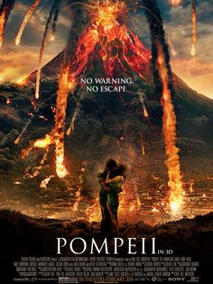 Paul W. Anderson's Pompeii movie poster stars Emily Browning and Kit Harington. The Pompeii poster is one of better film ads I Movies 2014, Hd Movies, Movies And Tv Shows, Movie Tv, Watch Movies, Movies Free, Kit Harington, Doctor Who, 10th Doctor