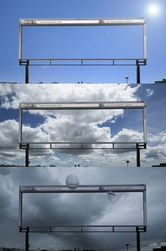 Boundary blurring MetService billboard a sleeper hit :: Idealog :: the magazine and website of New Zealand creative business, ideas and innovation