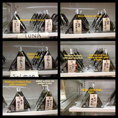 Onigiri at 7-11 Japan | Yokosuka Food Corner - Blue Street and Beyond