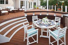 Trex Outdoor Monterey Bay 5 Piece Dining Set