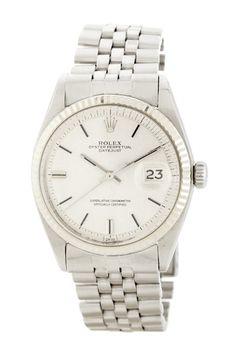 Rolex Unisex Datejust Stainless Steel Watch by Designer Estate Watches on @HauteLook